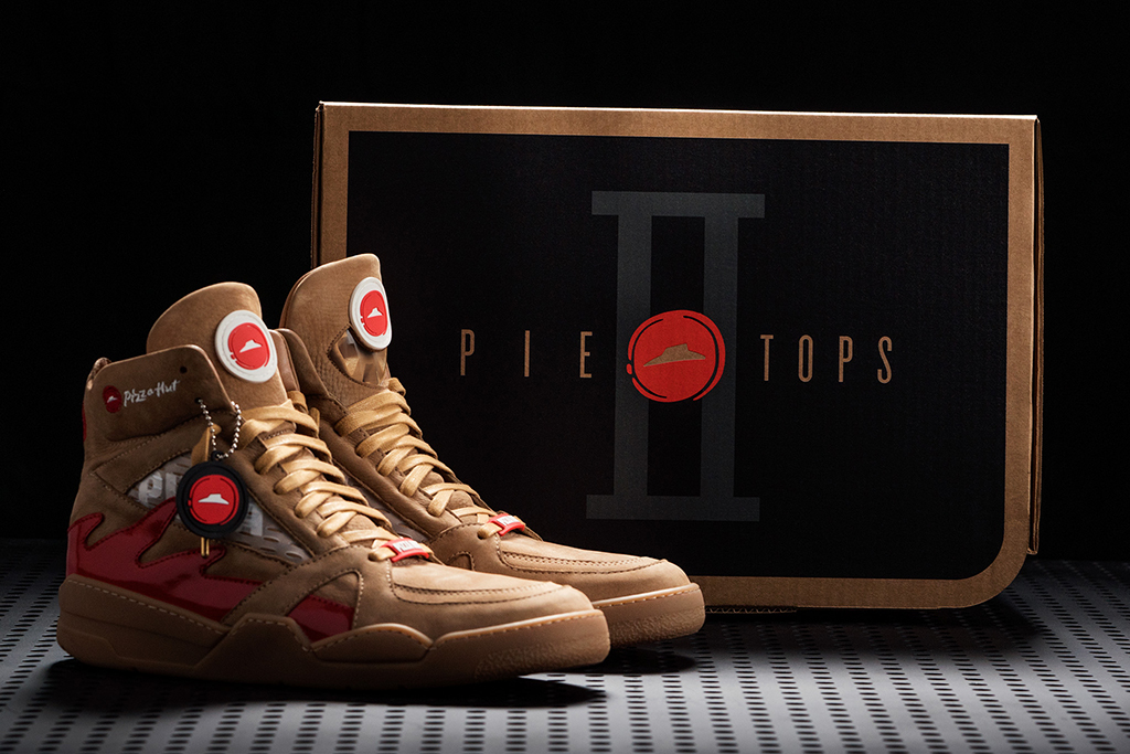 Pizza Hut Pie Tops II The Shoe Surgeon