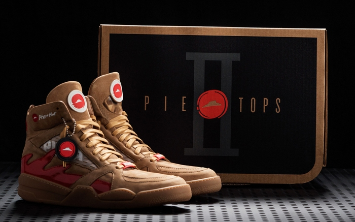 Pizza Hut Pie Tops II The Shoe Surgeon