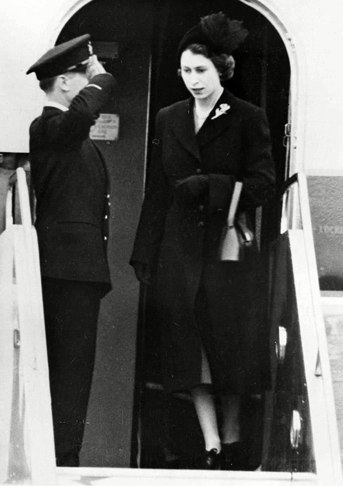 King George VI, queen elizabeth, funeral