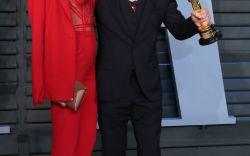 Louboutins at the Vanity Fair Oscar Party
