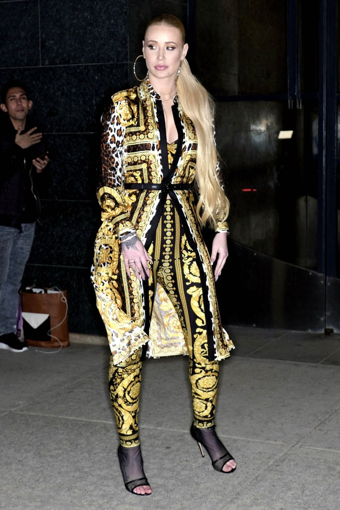Iggy Azalea at 'Watch What Happens Live' tv show in New York.
