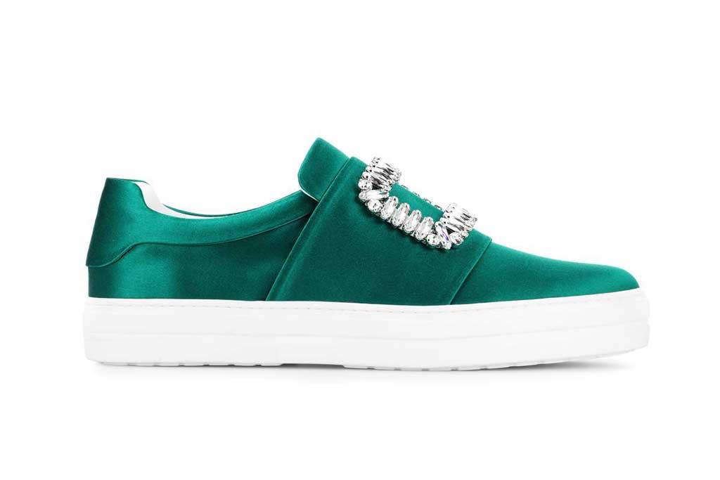 Roger Vivier jewel sneakers