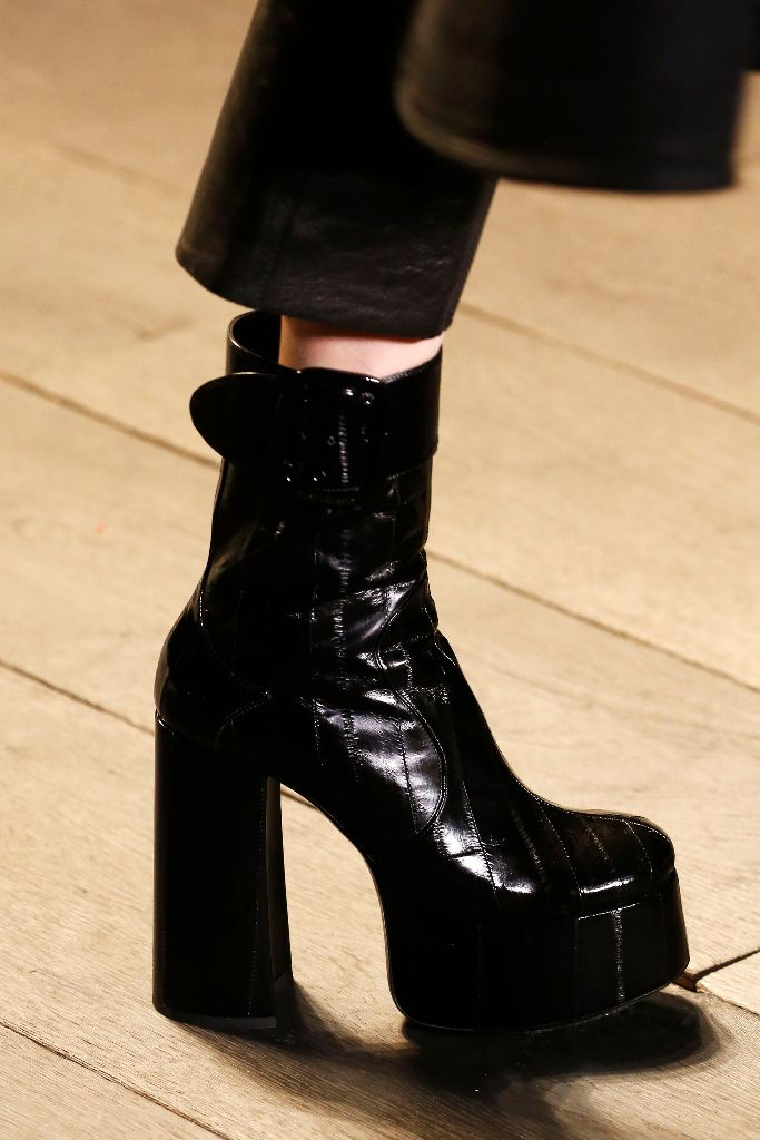 saint laurent fall 2018 platforms