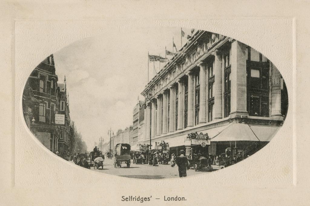 1909, selfridges
