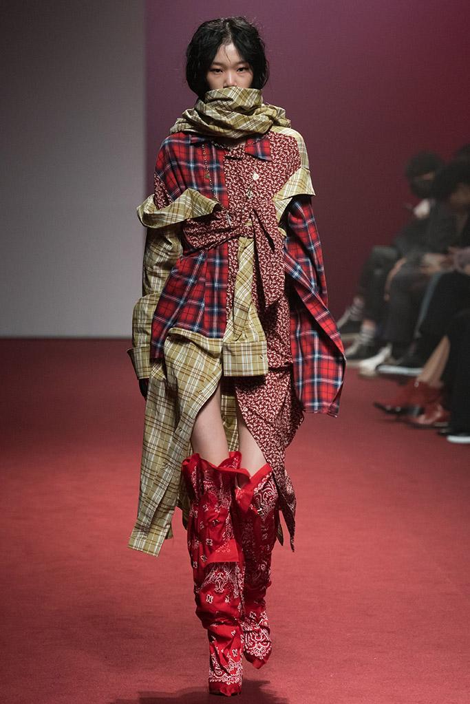 seoul fashion week, fall 2018, r. shemiste show