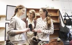 shoe shopping, women