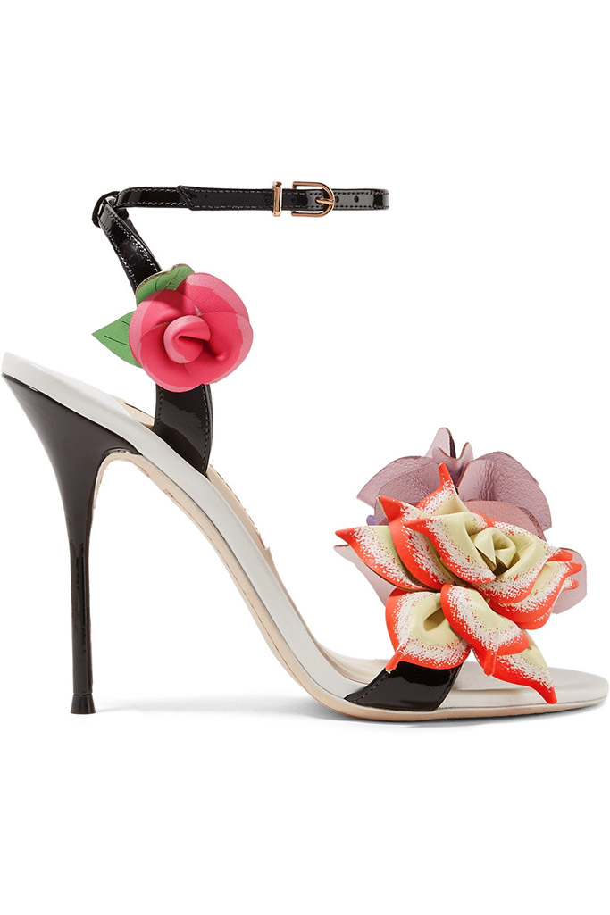 colorful spring shoes, spring equinox, sophia webster