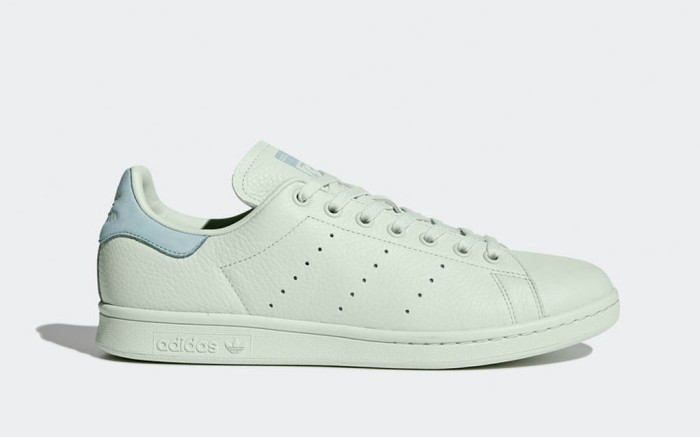Green Adidas Stan Smith sneakers