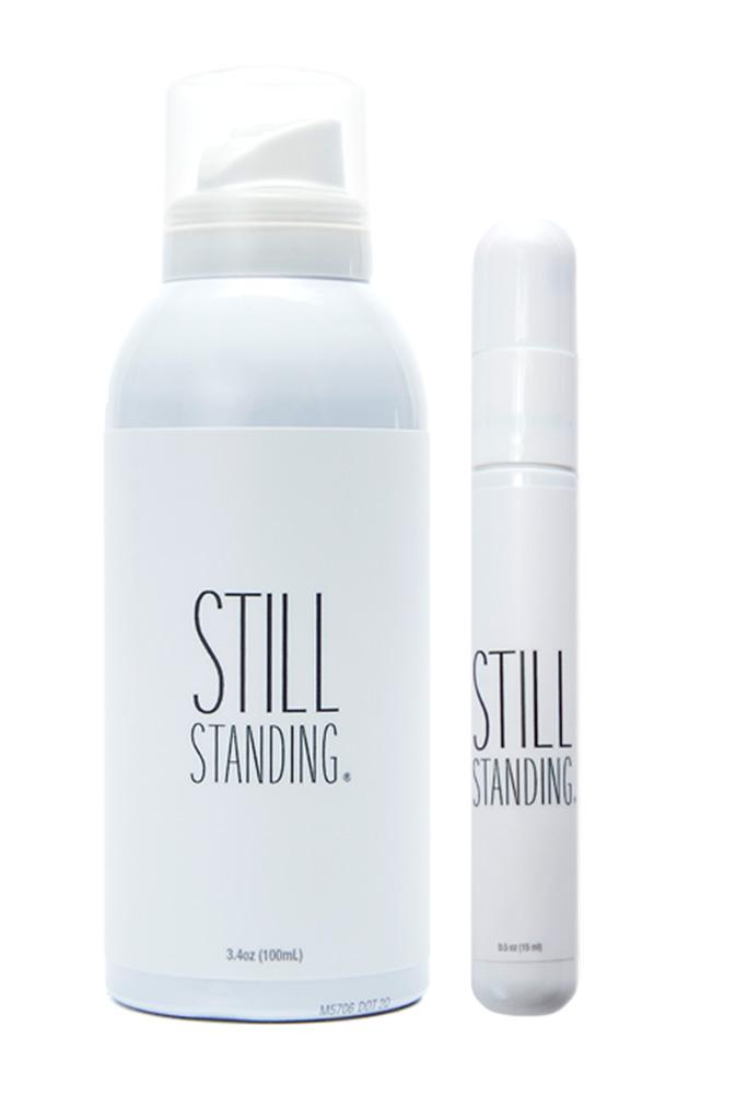 still standing spray