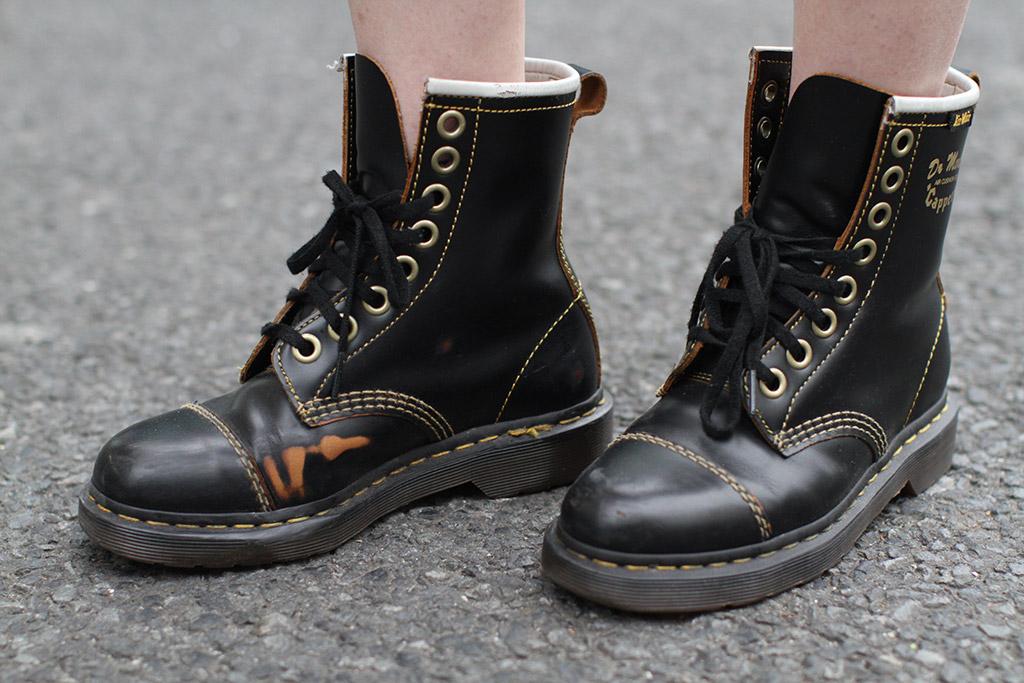 tokyo fashion week, street style, fall 2018, dr. martens