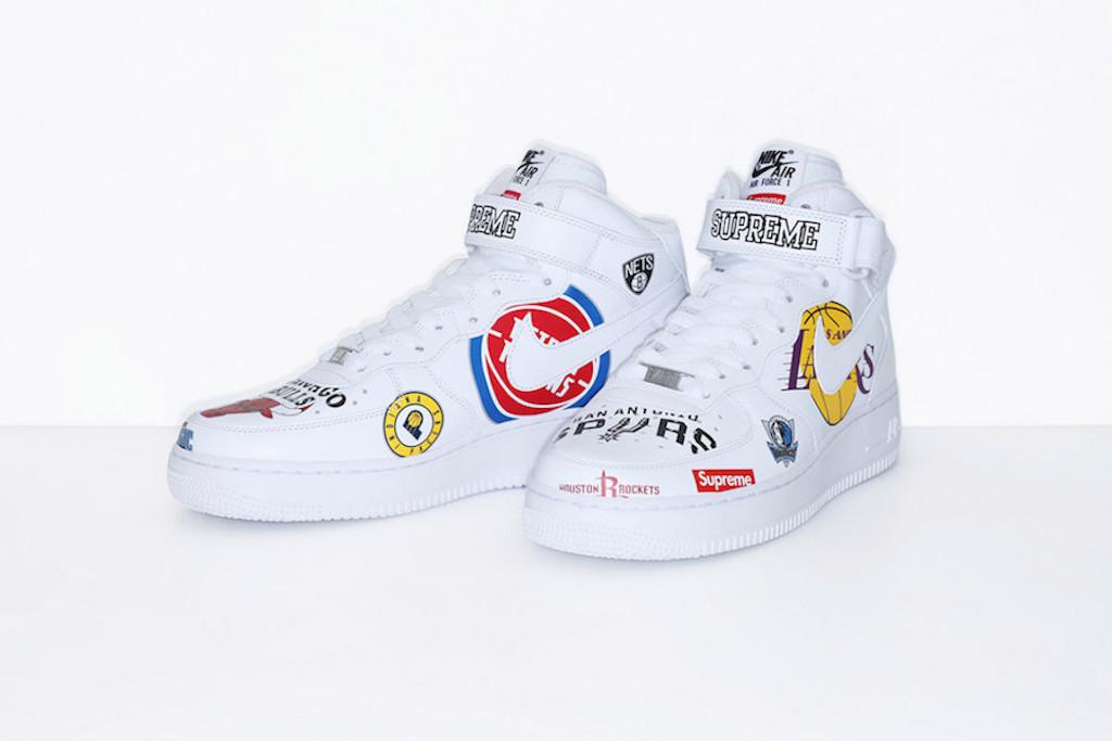 Supreme x Nike Air Force 1 x NBA