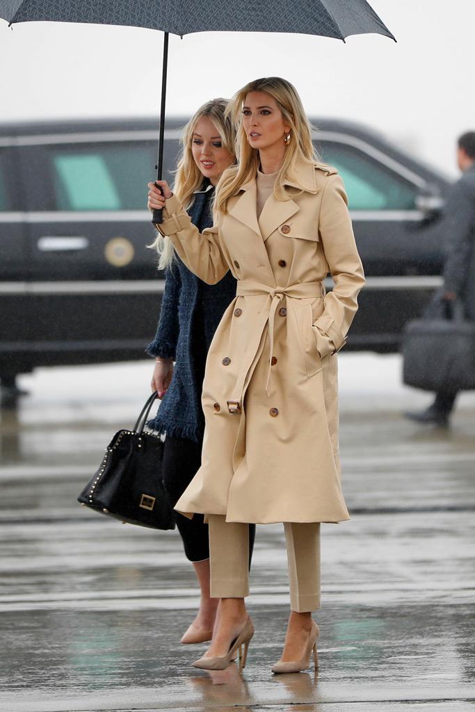 Tiffany Trump, Ivanka Trump