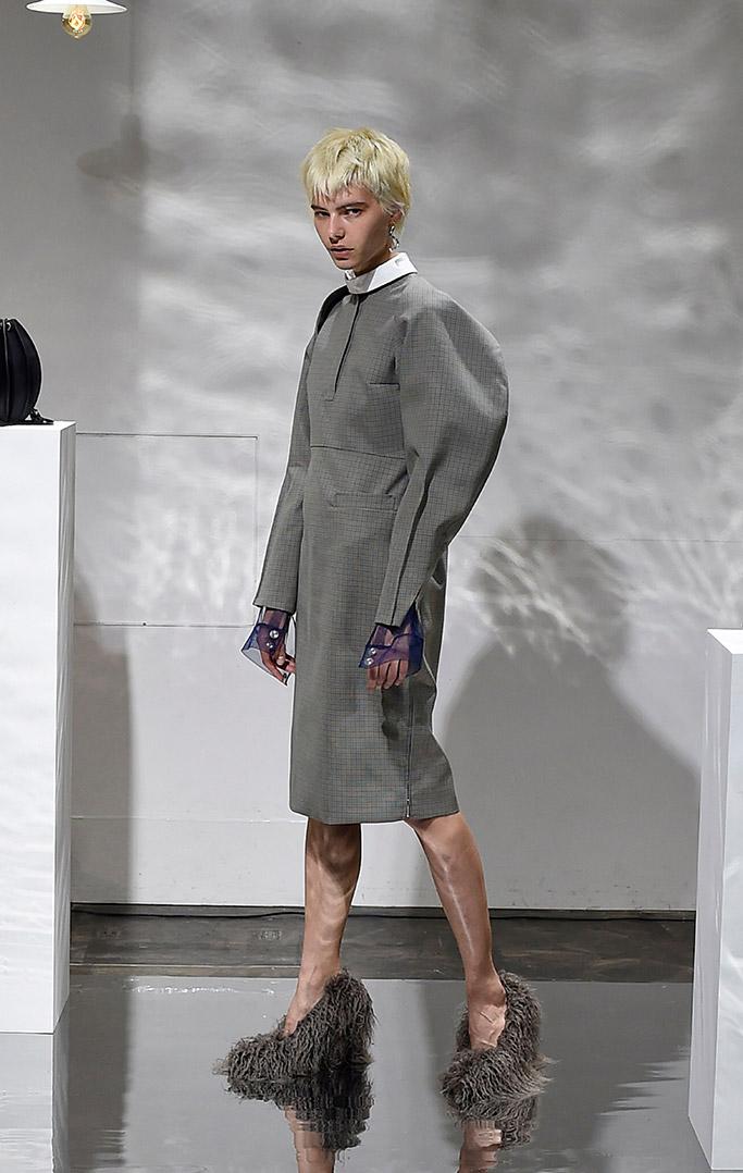 Tokyo fashion week, fall 2018 runway, Yohei Ohno