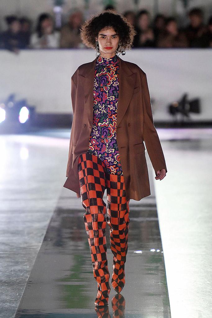 tokyo fashion week, fall 2018, runway, G.V.G.V show