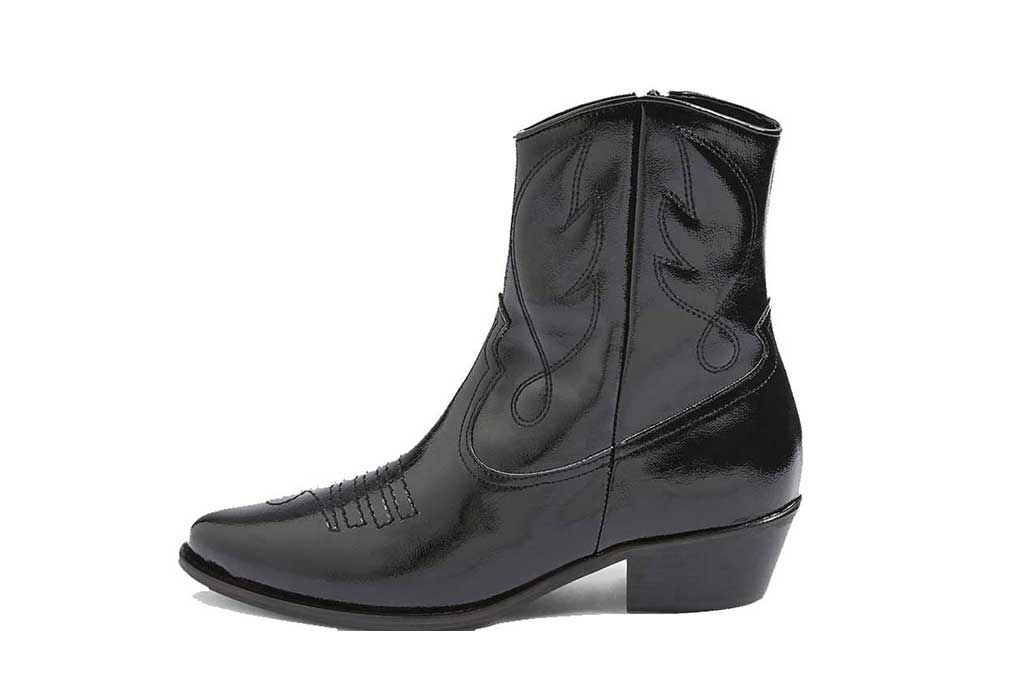 Topshop western boot
