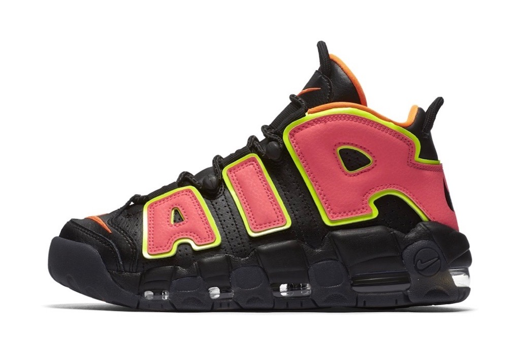A new Nike Uptempo colorway in the Unlaced shop