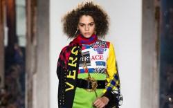 versace, fall 2018, milan fashion week