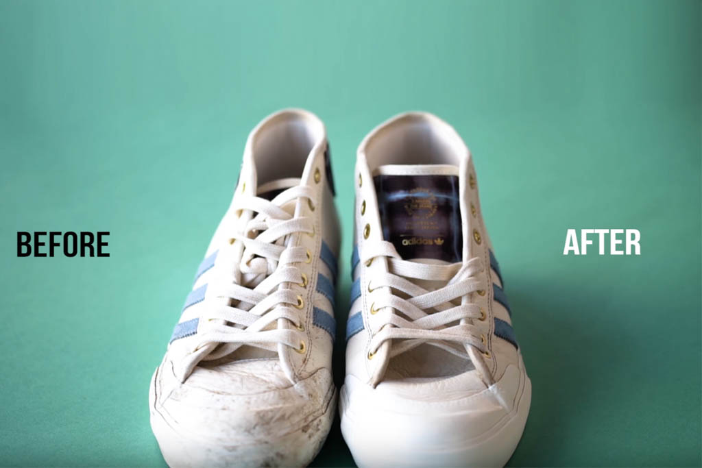 How to Clean White Shoes \u0026 Sneakers the