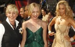 Ellen DeGeneres, Portia Di Rossi, Tyra