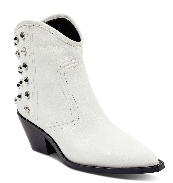 Marc Fisher LTD. Bailey Studded Leather Western Booties