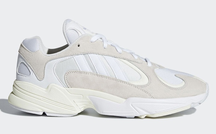 Salida Imperialismo Rechazar  Adidas Yung 1 'Cloud White' Sneaker Release Info 2018 – Footwear News