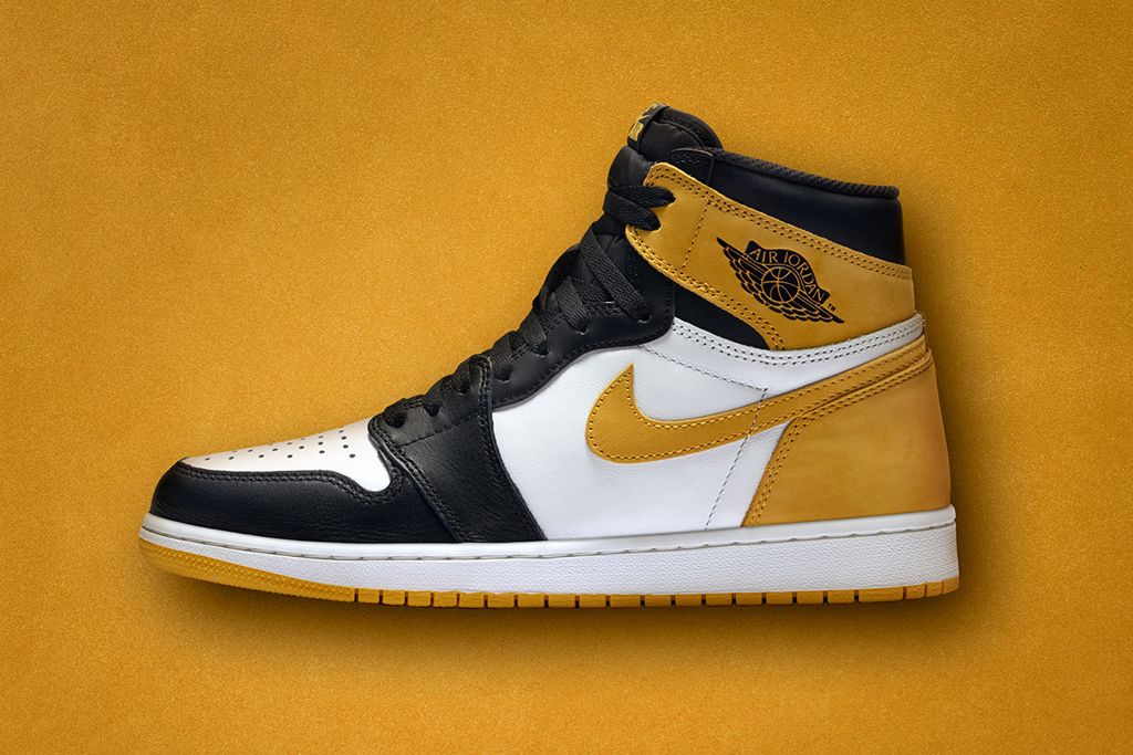 Air Jordan 1 High Best Hand in the Game Yellow Ochre