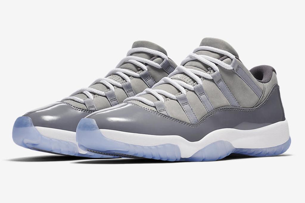 Air Jordan 11 Low Cool Grey Release