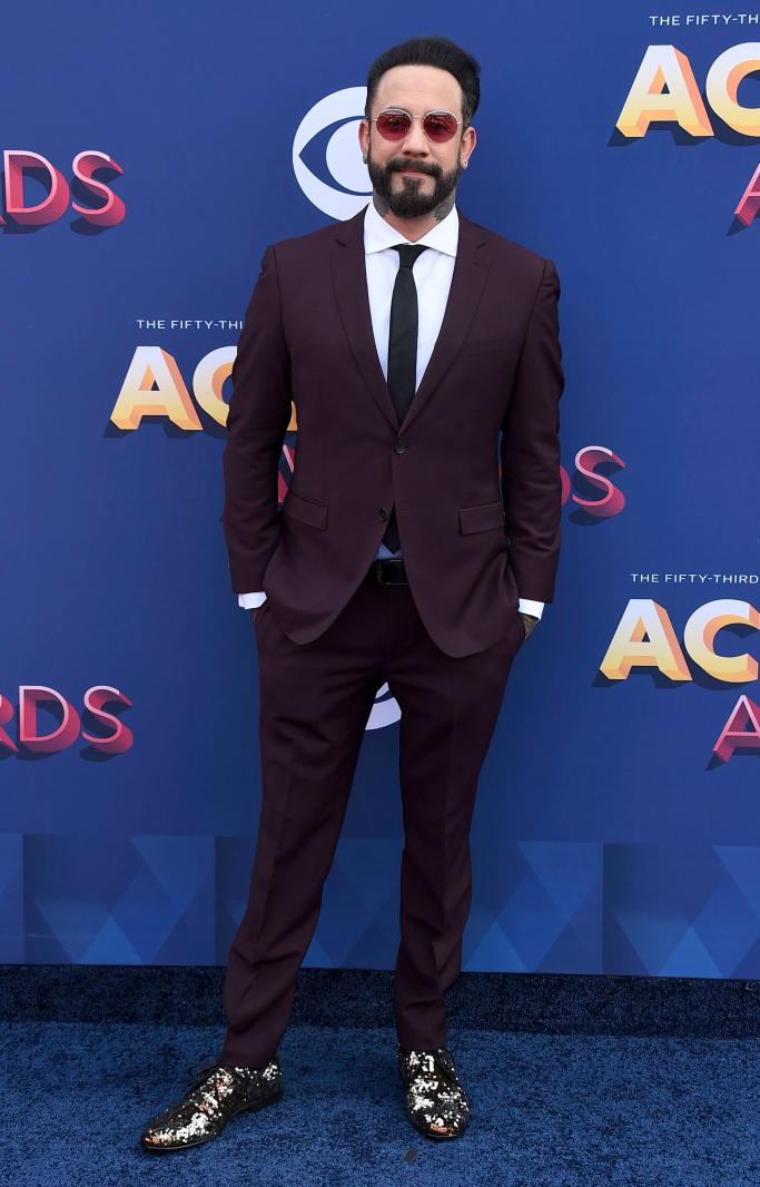 AJ McLean, acm awards 2018