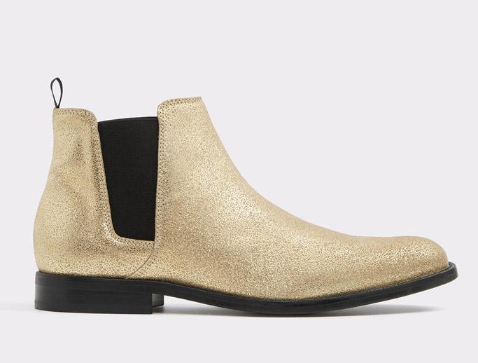 Aldo Vianello Gold Boots