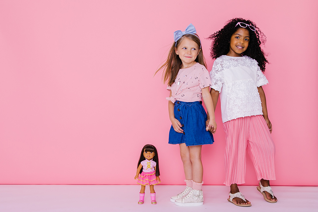 american girl, wellie wishers, kids shoes, spring shoe party