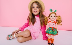 american girl, wellie wishers, kids shoes,
