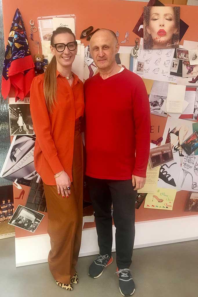 Arianna and Cesare Casadei