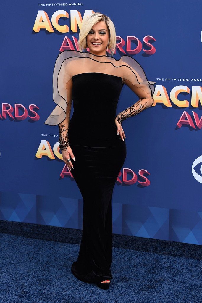 Bebe Rexha, acm awards 2018