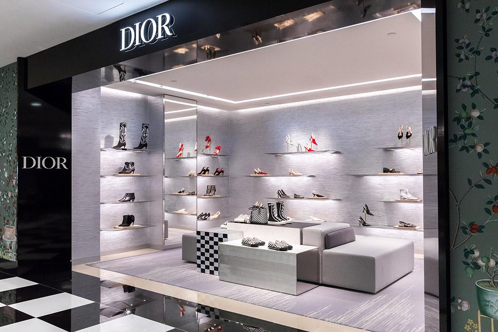Dior Bloomingdales New York Shoe Floor Shop