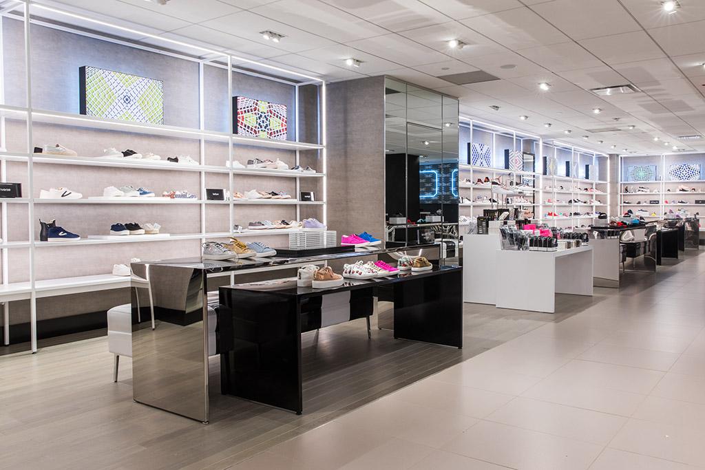 Bloomingdales New York Shoe Floor