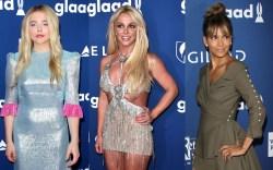 Chloe Grace Mortez, Britney Spears, Halle