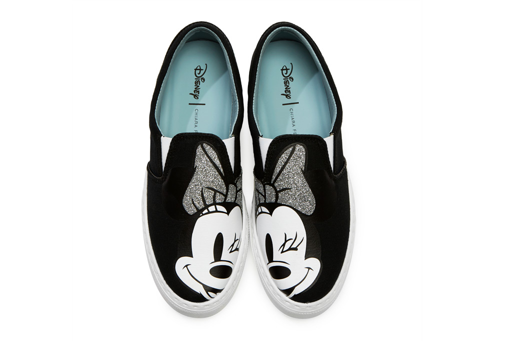 Minnie Mouse Slip-on Sneaker for Women by Chiara Ferragni