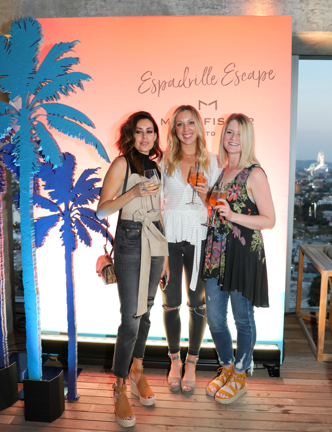 Marc Fisher LTD 'Espadrille Escape' event