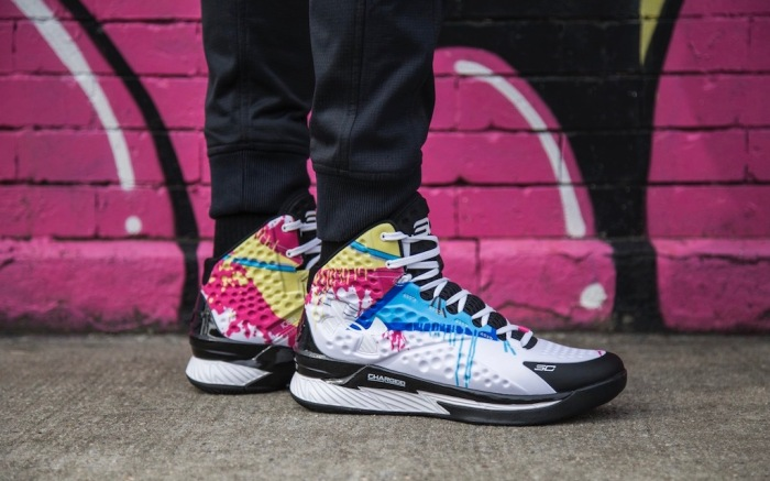 UA Icon Curry 1 'Wet Paint'