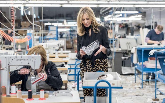 Dee Ocleppo Hilfiger shoe factory Naples