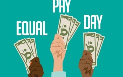 Equal Pay Day 2018.