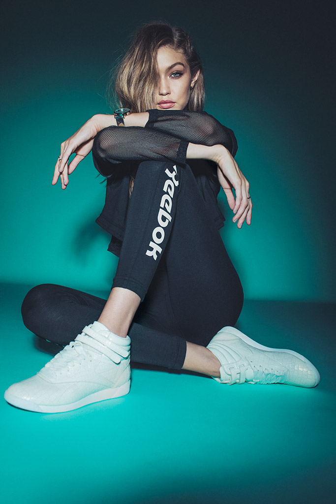 Gigi Hadid Reebok Campaign