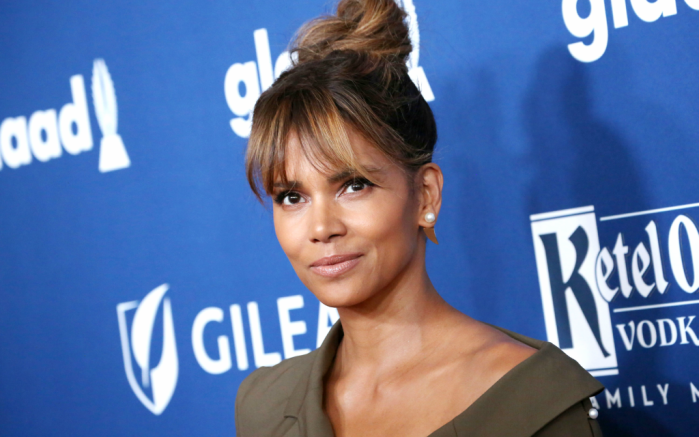 halle berry, glaad awards red carpet