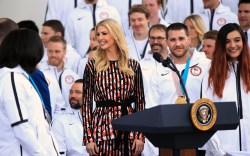 Ivanka Trump, kenzo dress