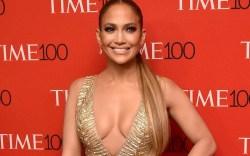 Jennifer Lopez, time 100 gala red