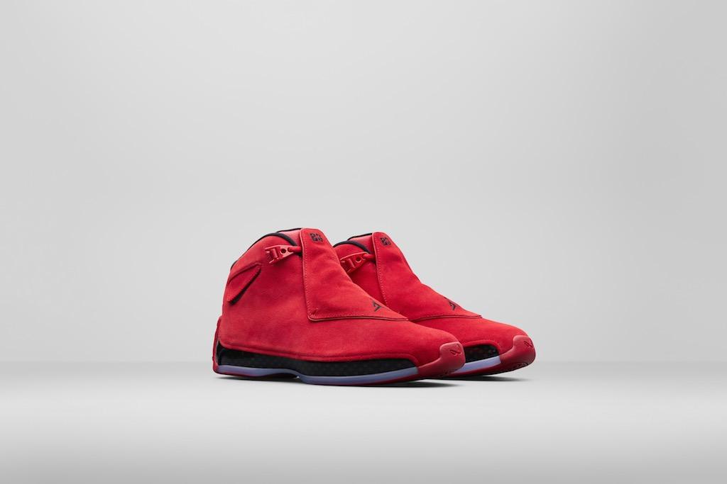 Air Jordan 18 'Toro Red'