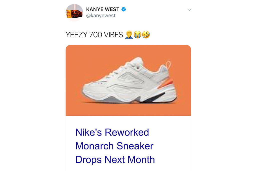 Kanye West Calls Out Nike on Twitter