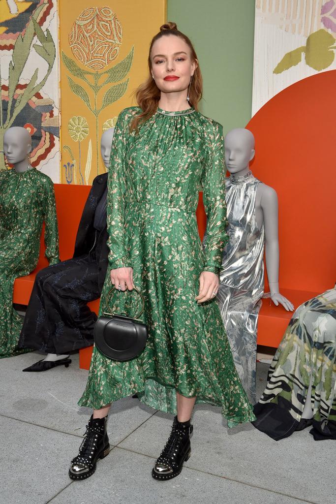 Kate Bosworth, H&M, green dress,