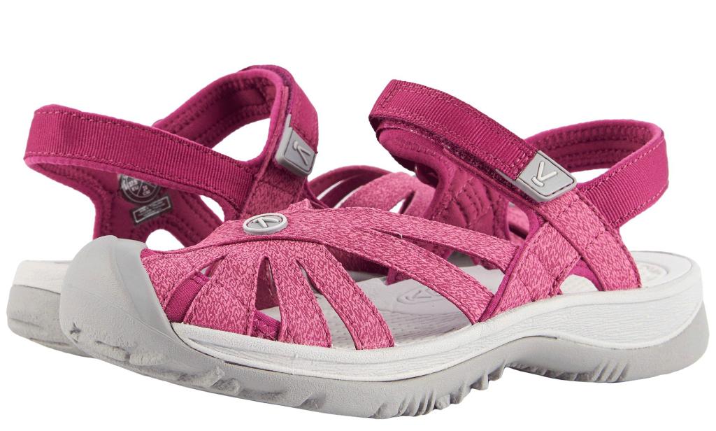 keen rose sandal