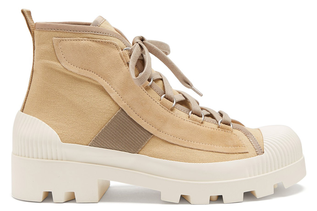 Acne Studios Dinila track-sole ankle boots